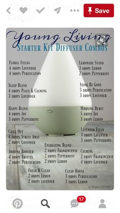Trendy how to use essential oils young living health ideas Young Essential Oils, Essential Oil Starter Kit, Essential Oils Guide, Essential Oils Cleaning, Essential Oil Diffuser Blends, Perfume Fahrenheit, Perfume Invictus, Essential Oil Combinations, Young Living Oils