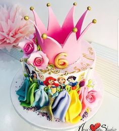 "14 Likes, 1 Comments - Inspire My Home (@inspire_my_home_) on Instagram: ""WOW WHAT A PRINCESS CAKE MADE BY THE FABOLOUS @ana_s_cake_studio GIVE HER A FOLLOW…"""