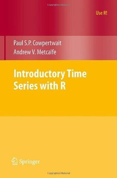 Introductory Time Series with R (Use R!) by Paul S.P. Cowpertwait, http://www.amazon.com/dp/0387886974/ref=cm_sw_r_pi_dp_KOrvsb1W60CDN