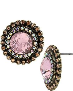 Love theses earrings pink is one of my favorite colors