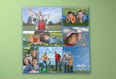 Montage - mehrere Fotos auf der gleichen Leinwand gedruckt