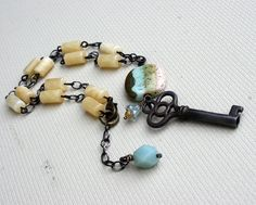 """Seraglio"" necklace by Rebecca Sower, via Flickr"