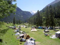Camping molignon , deels veld deels rijtjes