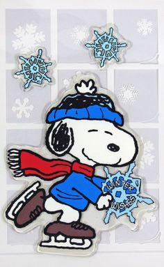 Snoopy Window Clings -