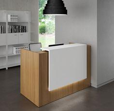 Reception desks | Entrance-Reception | Z2 | Quadrifoglio Office ... Check it out on Architonic