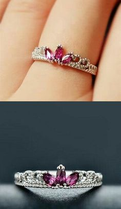 Rose Gold Plated Imperial Crown Ring for Women Fashion - Shops Hive