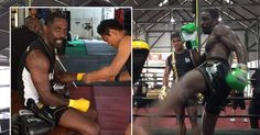 Idris Elba steps up preparation for kickboxing debut with INTENSE training in Thailand - Mirror Online