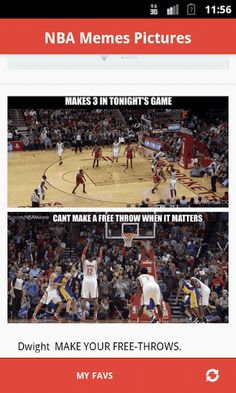 Best NBA Memes Pictures For NBA Fans<br> <br>The advantages of the application:<br>-The application it's free<br>-The quality and speed of loading<br>-The database is updated every day<br>- Mark as favorite<br>- Save image  http://Mobogenie.com