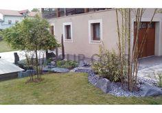 Jardins cour sur pinterest jardins contemporains - Idee deco terrasse exterieure ...