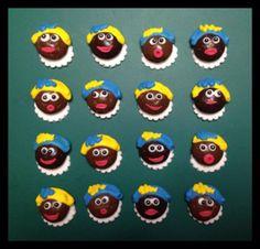 Pieten cupcakes