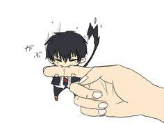 gif chibi Rin Okumura Ao no Exorcist / Blue Exorcist Anime Chibi, Anime Kawaii, Gif Kawaii, Manga Anime, Anime Art, Chibi Kawaii, Ao No Exorcist, Blue Exorcist Anime, Blue Exorcist Funny