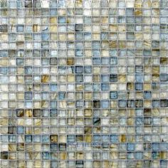 Was thinking about this adding a strip to the kitchen backsplash....love it!  HotGlass | HAK-BH906 | Sargasso Sea | Tile > Glass Tile