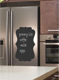 Wall Friendly Chalkboard Wall Decal