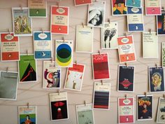 postcard display