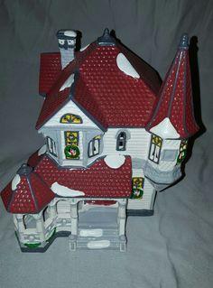 Dept 56 QUEEN ANNE VICTORIAN HOUSE Original Snow Village   | eBay