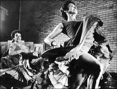 Chita Rivera and Liane Plane in West Side Story.