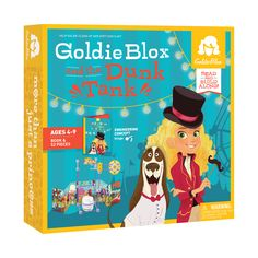 GoldieBlox and the Dunk Tank Interactive Book
