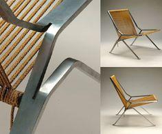 Poul Kjaerholm - PK 25. A clever chair.