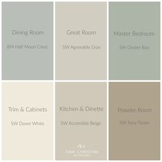 sherwin williams whole house color palette google search bedroom
