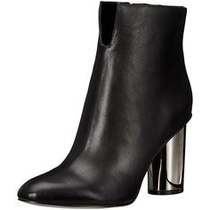 KENDALL + KYLIE Women's Kenzie Ankle Bootie ($93) ❤ liked on Polyvore featuring shoes, boots, ankle booties, short boots, ankle bootie boots, embellished ankle boots, embellished boots and bootie boots