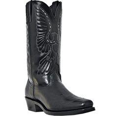 6840 Laredo Men's Gainesville Western Boots - Black