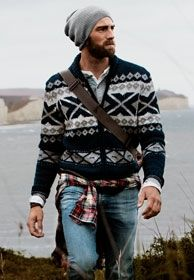 Grunge meets Norwegian | mens sweater | mens style | mens fashion | great look