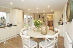 Lichfield family dining kitchen