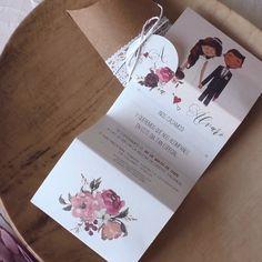 Wedding Invitation Card Design, Creative Wedding Invitations, Wedding Card Design, Wedding Cards Handmade, Diy Wedding, Ideas, Photo Wedding Invitations, Vintage Wedding Invitations, Wedding Invitation Design
