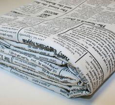 Kitty Newspaper $13/yrd