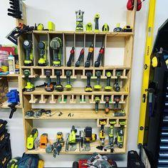 74 widest and convenient garage organization ideas 5 Tool Storage Cabinets, Garage Tool Storage, Garage Tools, Garage Workbench, Garage Shop, Wood Shop Projects, Woodworking Projects Diy, Woodworking Plans, Woodworking Shop