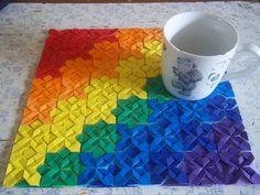 Quilt-folded placemat by Ilyere.deviantart.com on @deviantART