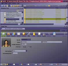 How to change skin or eyes in SimPE