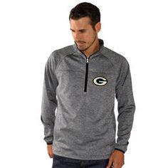 Pro Line Green Bay Packers Star Imperial Full-Zip Hoodie - Black