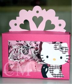 Sizzix+Hello+Kitty+Ladybug | Here's a sample of a box you can make using the decorative doily die ...