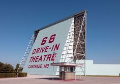 Route 66 Road Trip, East Coast Road Trip, Us Road Trip, Road Trip Hacks, Wigwam Hotel, Carthage Missouri, Drive In Movie Theater, Historic Route 66, Roadside Attractions