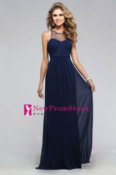 Prom Dresses Sheath/Column Scoop Sleeveless Floor Length Zipper Up Back With Ruffles US$ 119.99 NPSPJ6J5H9G - NewPromShops.com