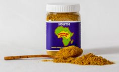 SOUTH - Cape Malay Curry: Our Afrikoz Spices variety includes black pepper, cardamom, chilli, cloves, coriander, curry leaf, fennel, fenugreek, ginger, mustard seed and turmeric. $10 each for 1-3 100g jars