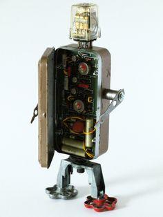 Access robot- interior detail | by Lockwasher