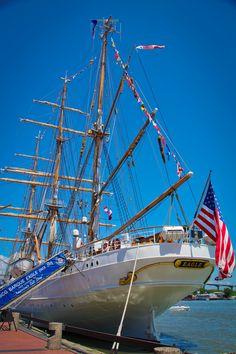 Savannah Tall Ships Challenge 2012.  The Eagle.   Photo by Savannah Christine Photography