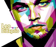 Leonardo Dicaprio in WPAP by aditzprasetya on DeviantArt