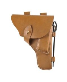 Leather Tokarev Holster with cleaning rod