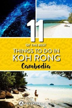 Koh Rong Cambodia | Making plans to travel Cambodia? A trip to Koh Rong Island is one of the best things you can do. Here are a few of the best things to do in Koh Rong Island that you can't miss! From beautiful beaches to fun island adventures, Koh Rong is a place that has it all.