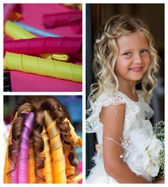 Create beautiful ringlets, natural curls, or big beachy waves with Girlz Curlz. Fun, easy to use and they require no damaging heat! 2 styles available to suit different hair types and lengths.  Shop here: www.toutmonamour.com.au Fancy Hairstyles, Girl Hairstyles, Different Hair Types, Beachy Waves, Wedding With Kids, Natural Curls, Hair Journey, Baby Girl Fashion, Hair Dos