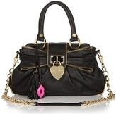 Betsey Johnson Heart of Gold leather satchel! I SOOOOOO WANT THIS !!!!!