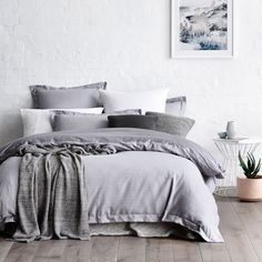 Home Republic Herringbone - Bedroom Quilt Covers & Coverlets - Adairs online