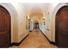 Love this arched hallway