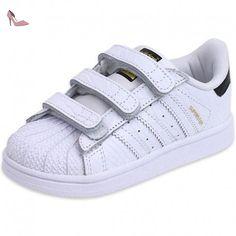 adidas Superstar–Chaussures pour homme, Blanc–(Ftwbla/Onix/dormet) 44
