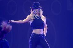 Watch Britney Spears Fall During Las Vegas Show - BILLBOARD #BritneySpears, #LasVegas, #Entertainment