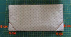 Mamma Gioca: Tutorial: come cucire un cestino di stoffa Zip Around Wallet, Mamma, Card Holder, Notebook, Sewing, Cards, Gifts, Decor, Carton Box