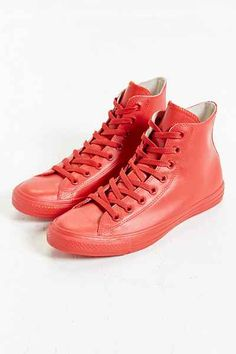 Converse Chuck Taylor All Star Rubber High-Top Sneakerboot   Now how could anybody survive the heat and sweat in this rubber boot??